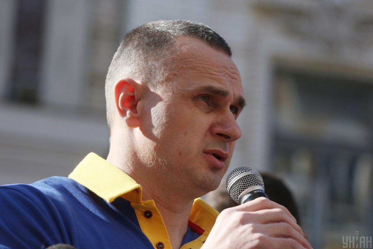Сенцов з Сущенком виступили на полях ОБСЄ / фото УНІАН