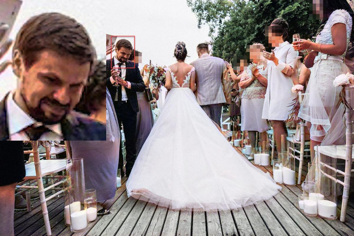 Анатолий Чепига на свадьбе дочери Андрея Аверьянова / Фото: Радио Свобода