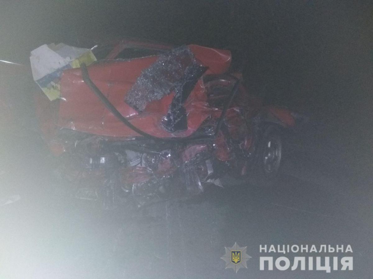 ДТП сталася за участю автомобілів Москвич-2141 та Opel Vectra / фото mk.npu.gov.ua