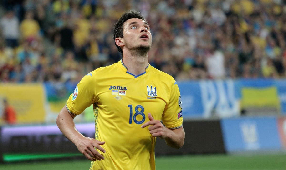 Травма не должна помешать Яремчуку сыграть на Евро-2020 / фото: УАФ