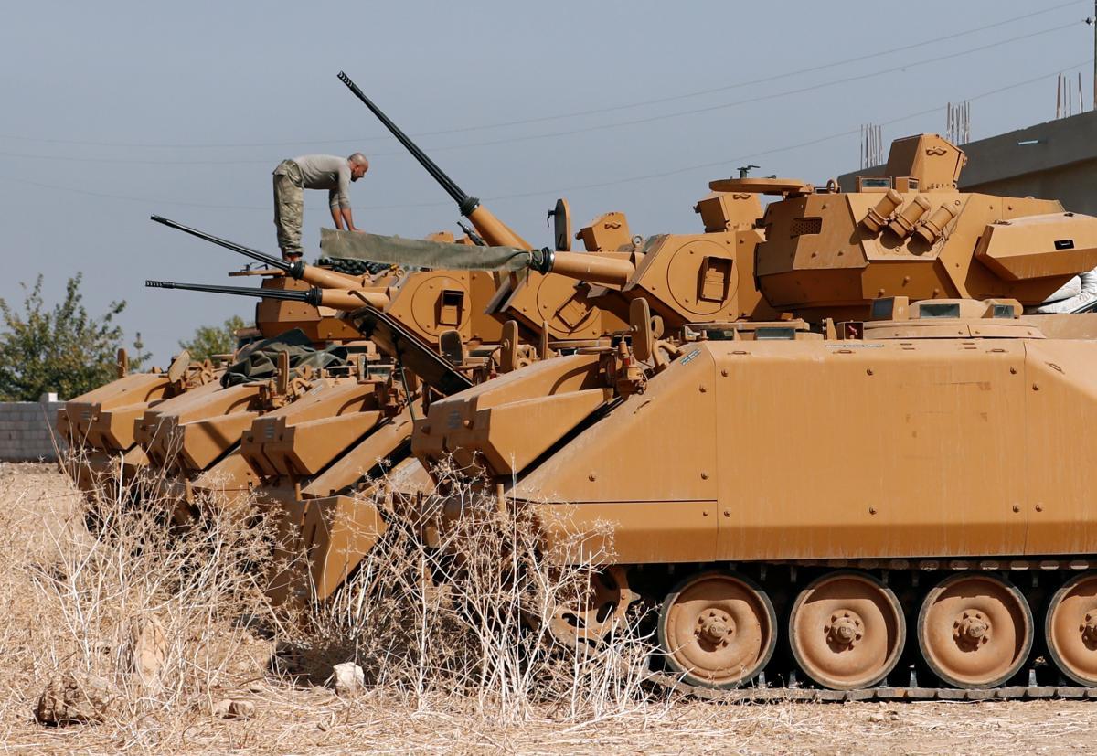 Президент Азербайджана заявил, что военноевмешательствоили участиевооруженных сил Турции исключено/ REUTERS