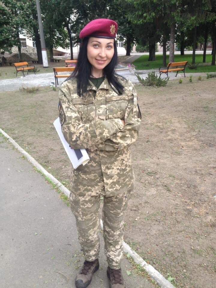 Ярослава Никоненко погибла от пули снайпера / фото facebook Yanina Sokolova