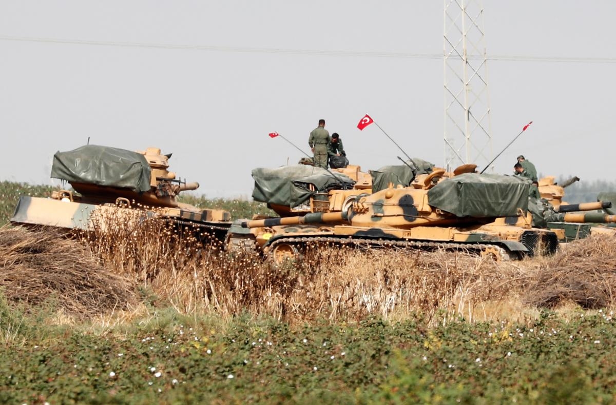 He alleges the Azerbaijani military have Turkish-made weapons / REUTERS
