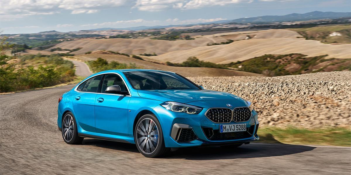 BMW представила передньопривідний седан / фото BMW