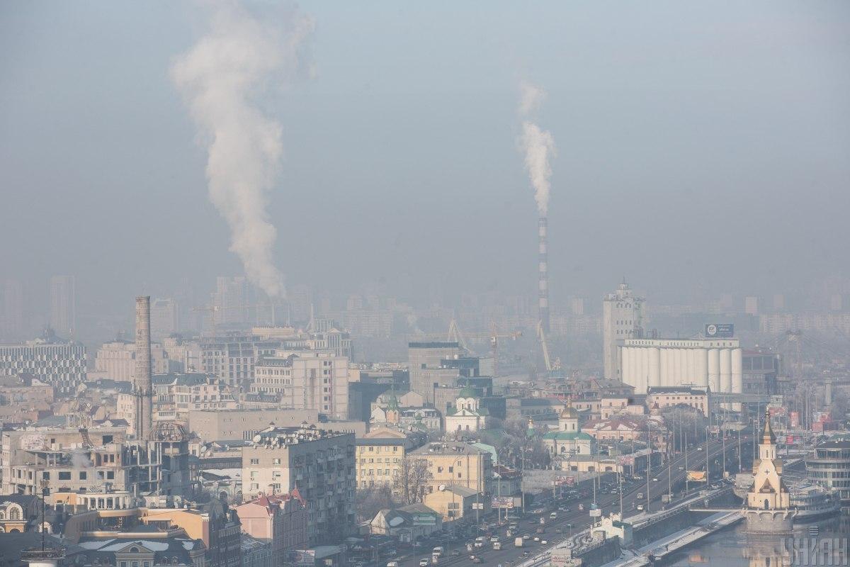Почти каждый европейский житель города испытывает влияние загрязнения / фото УНИАН