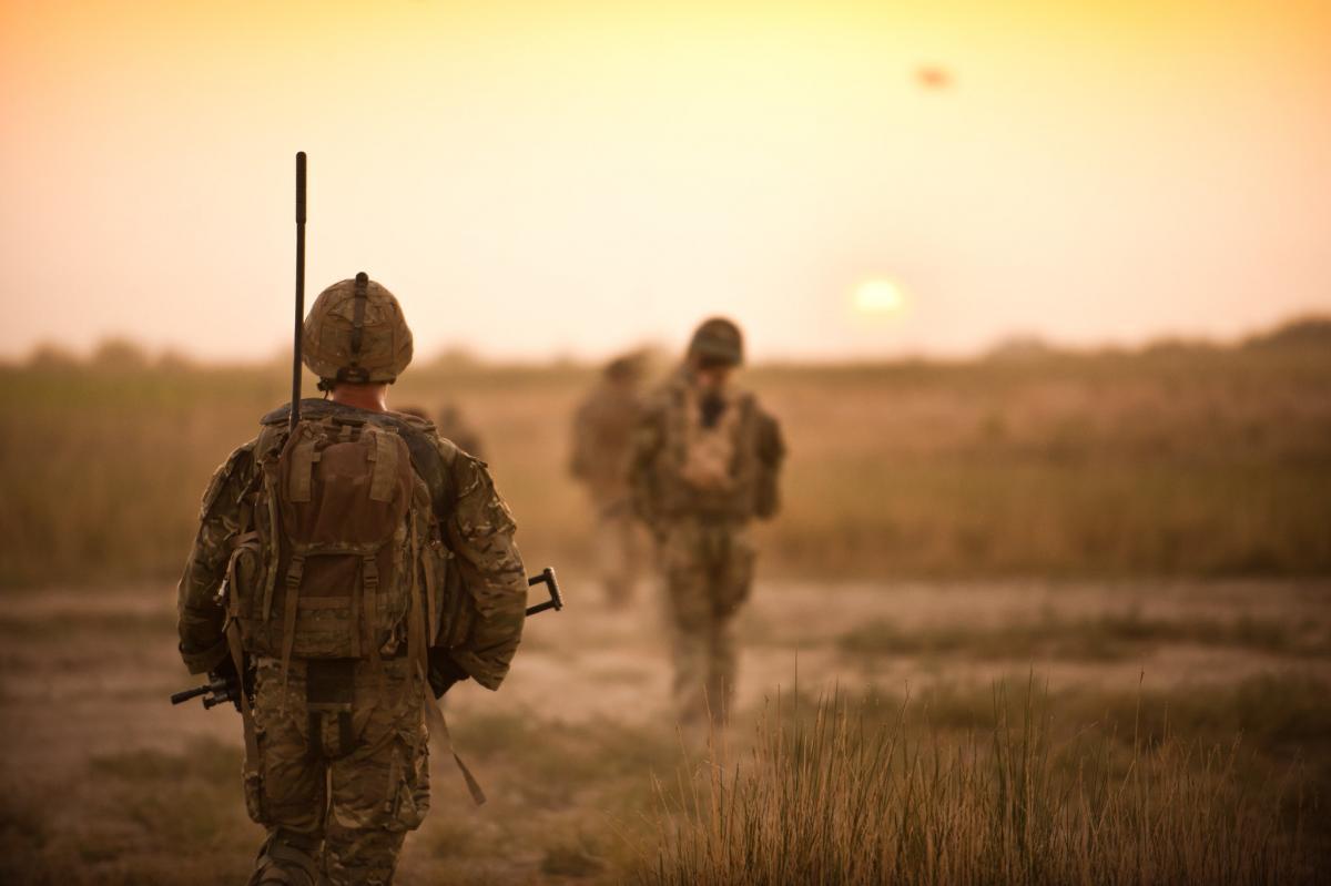 Британские солдаты жалуются на сообщения с угрозами от России / Flickr/DVIDSHUB