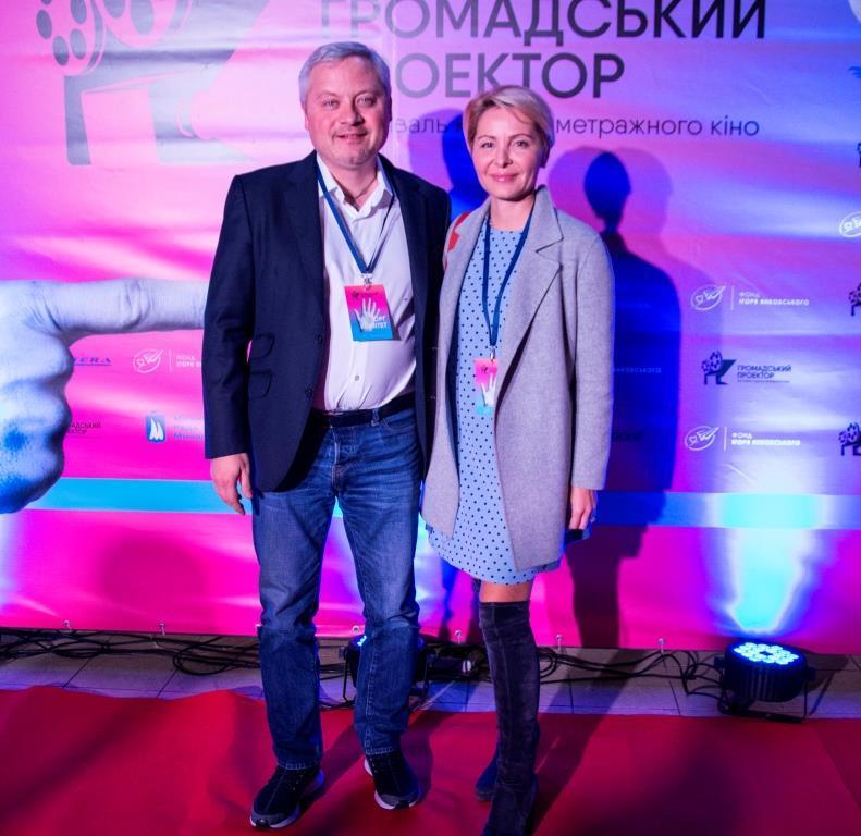 Меценат и бизнесмен Игорь Янковский с супругой Светланой Сухиной