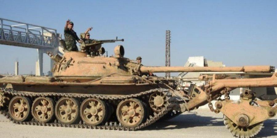 Сирийские военные вошли в городКобани/ фото Syrian Observatory for Human Rights