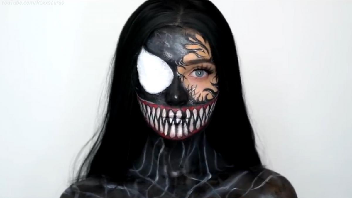 Образ Венома не менш актуальний на Хеловін /YouTube.com/Roxxsaurus