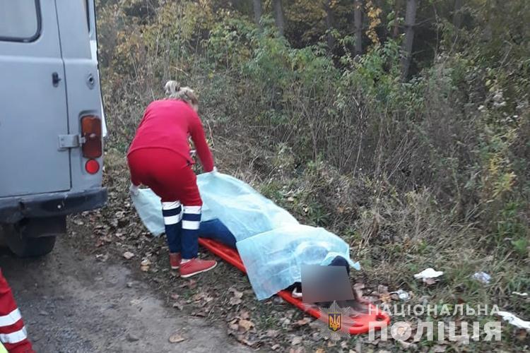 На момент приезда медиков девушки уже были мертвы / фото ГУ НП в Тернопольской области