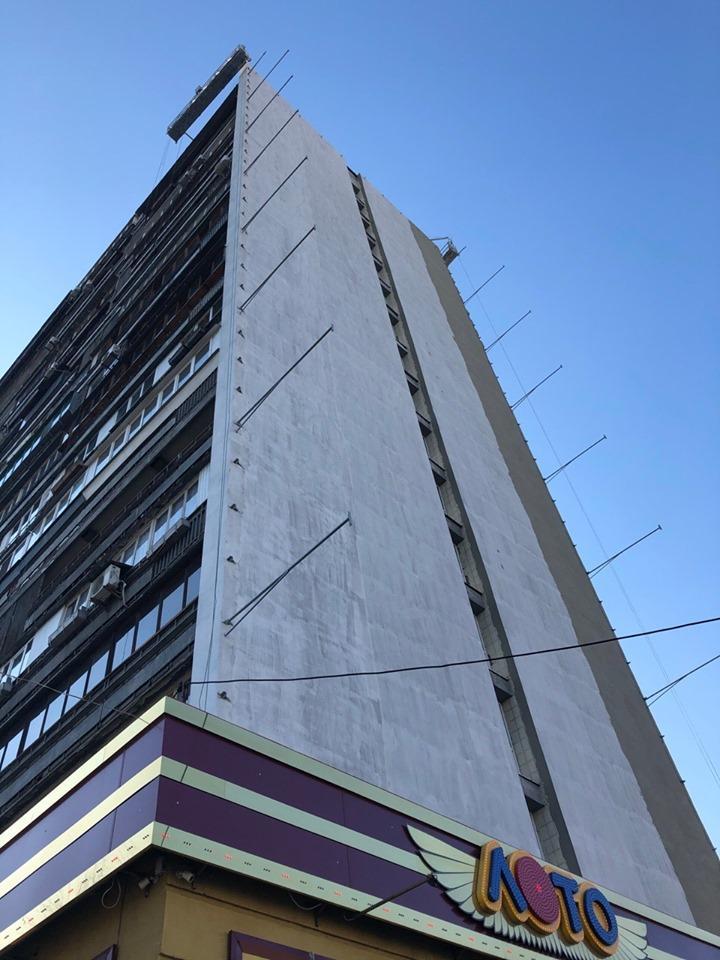 Вот так фасад дома выглядит сейчас / Фото facebook Geo Leros