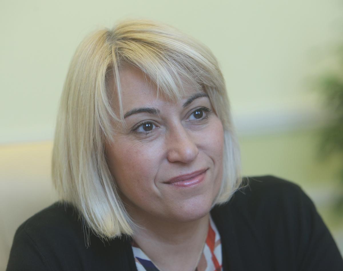 Міністр нового міністерства розвитку громад і територій України Альона Бабак / фото УНІАН