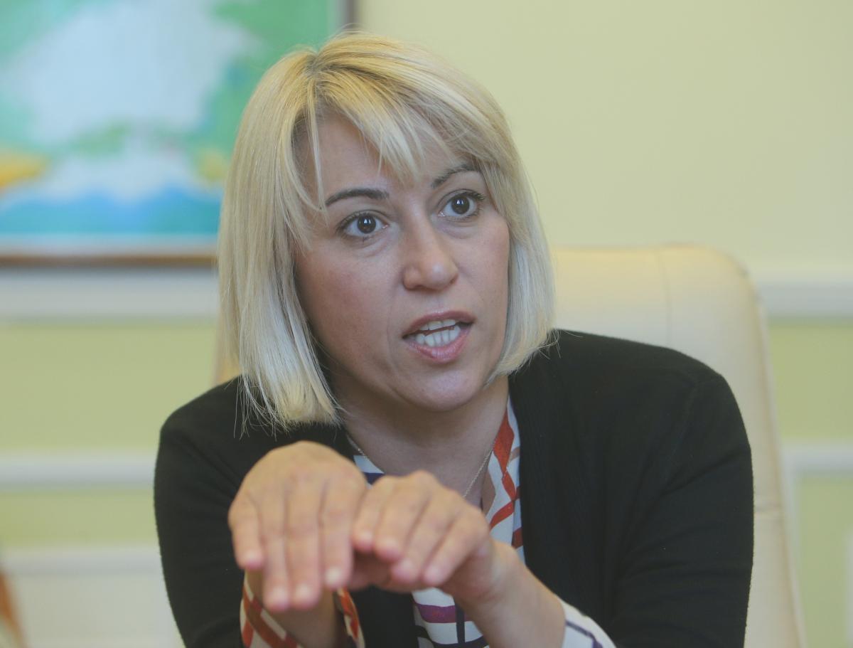 Альона Бабак: діяльність нового уряду має бути людино-центричною / фото УНІАН