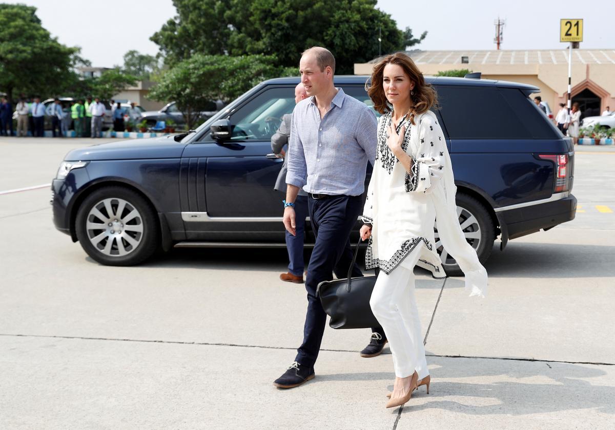Принц Уильям и Кейт / фото REUTERS
