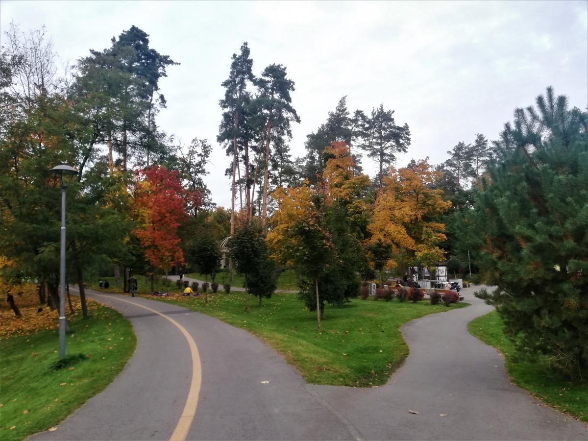 Бучанский парк открыли лишь в 2011 году / Фото Марина Григоренко