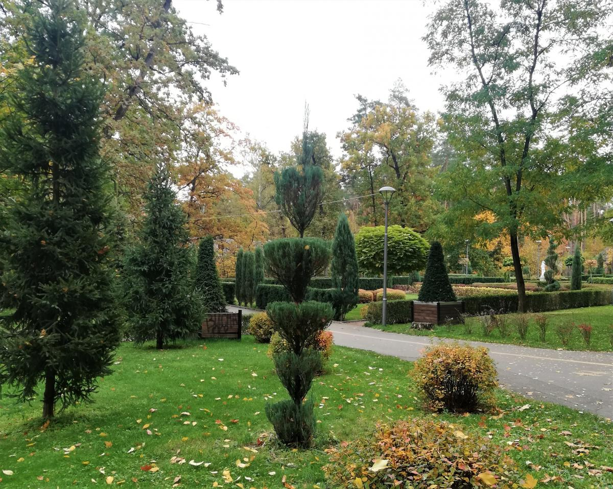 Французский дворик в парке Бучи / Фото Марина Григоренко