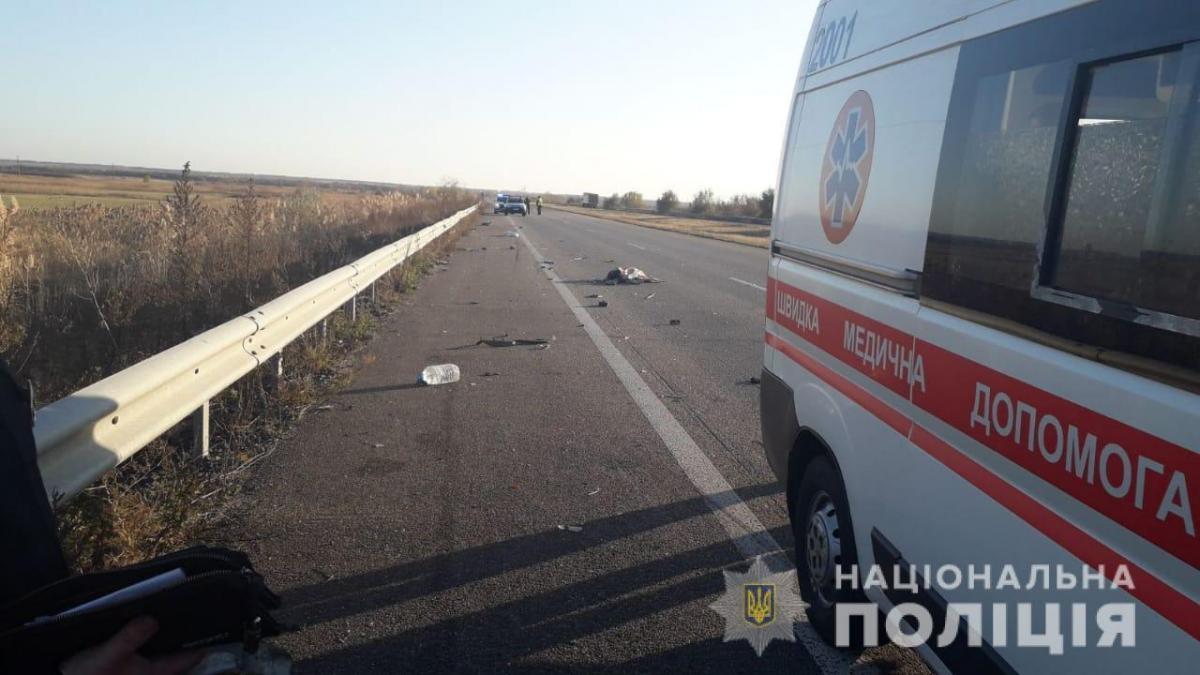 В аварии пострадал 8-месячный мальчик / facebook.com/police.kharkov