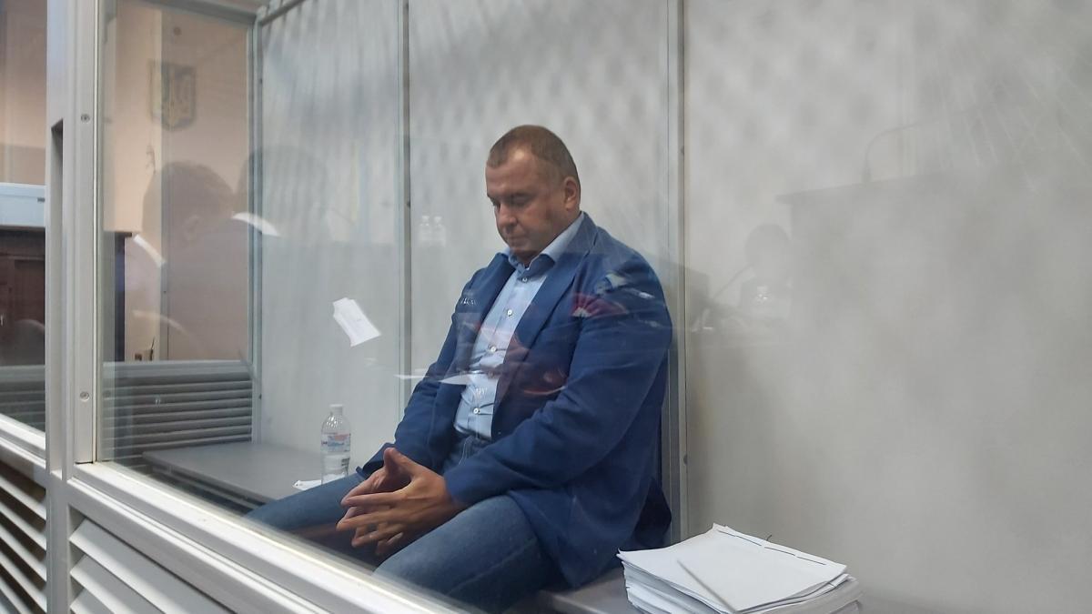 Гладковський на засіданні суду / twitter.com/MaryanKushnir