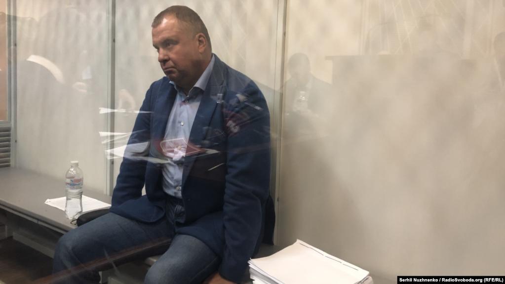 Олег Гладковский на заседании по избранию меры пресечения / Радио Свобода
