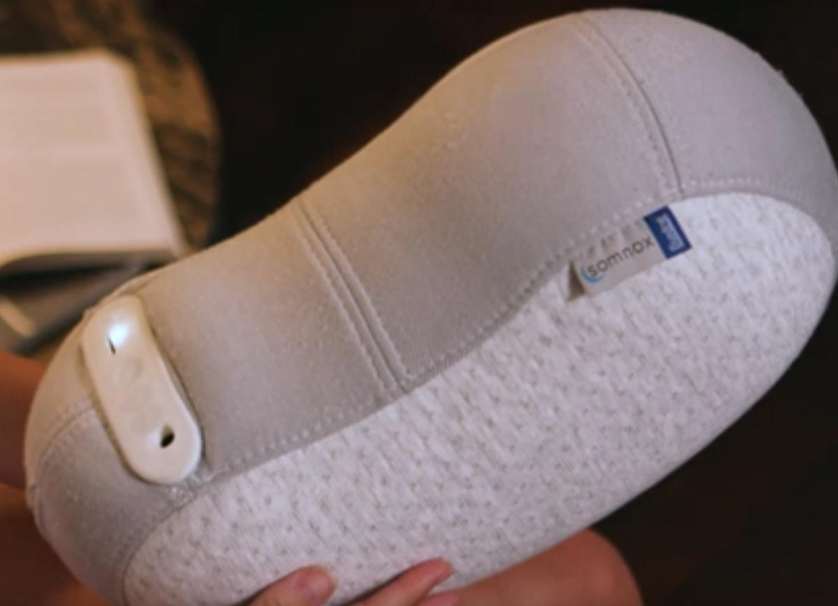 Роботизированная подушка также использует «успокаивающие звуки» / скриншот видео