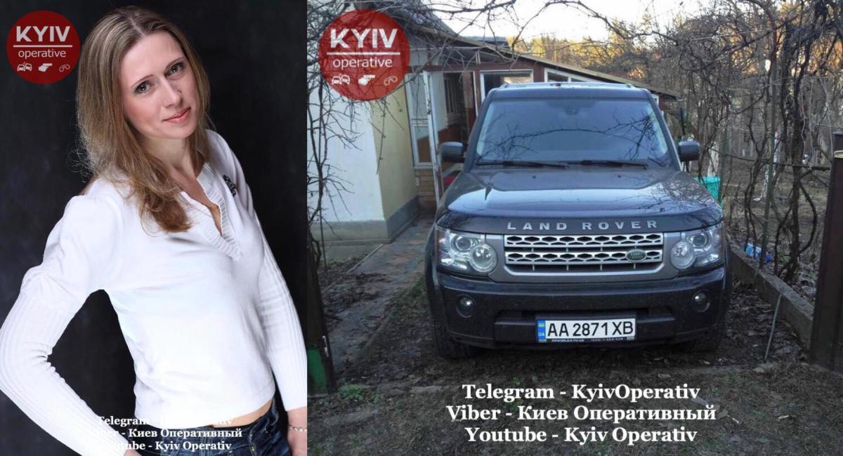 Найдено и авто жертвы / facebook.com/KyivOperativ