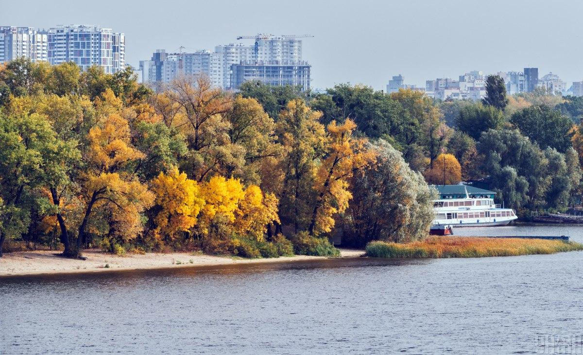 В Киеве установилась рекордно теплая погода / УНИАН