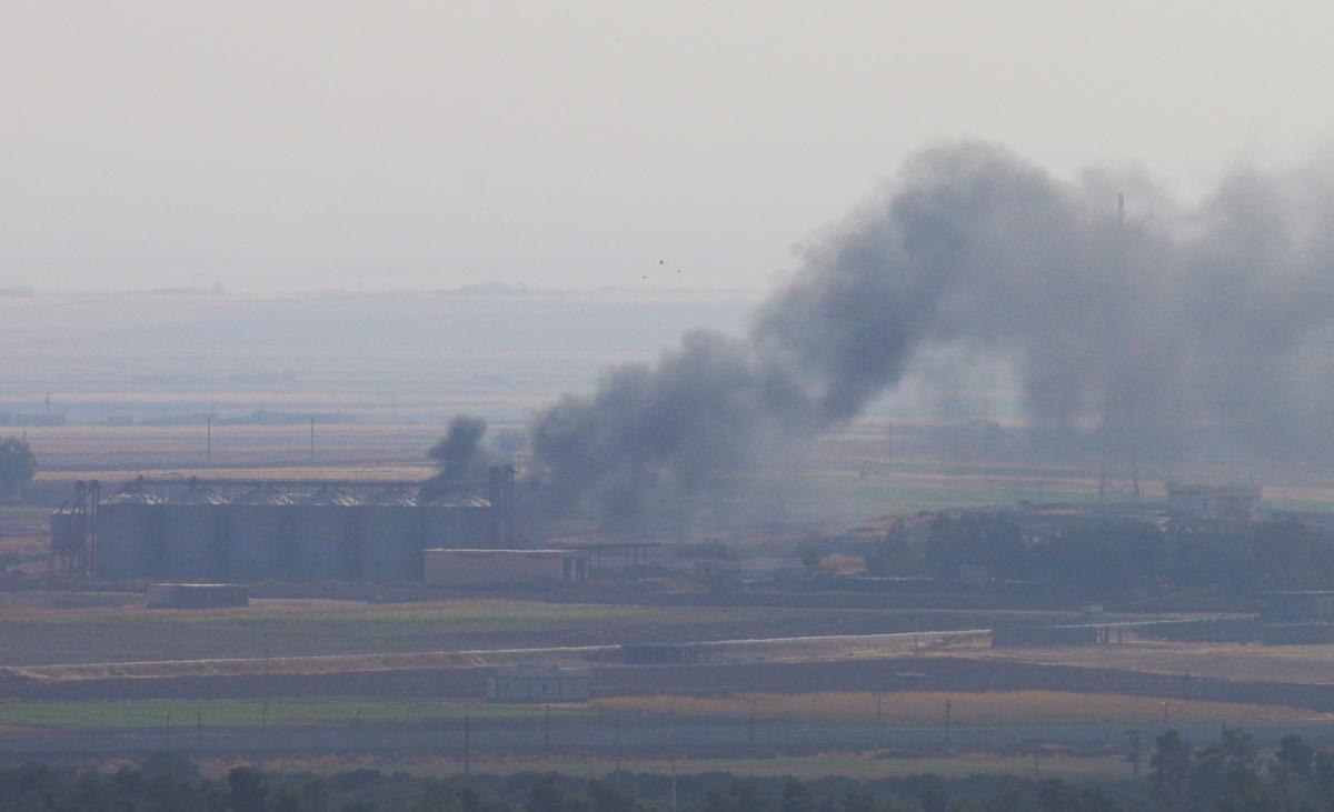 Российский вертолет упал в Сирии / Иллюстрация REUTERS