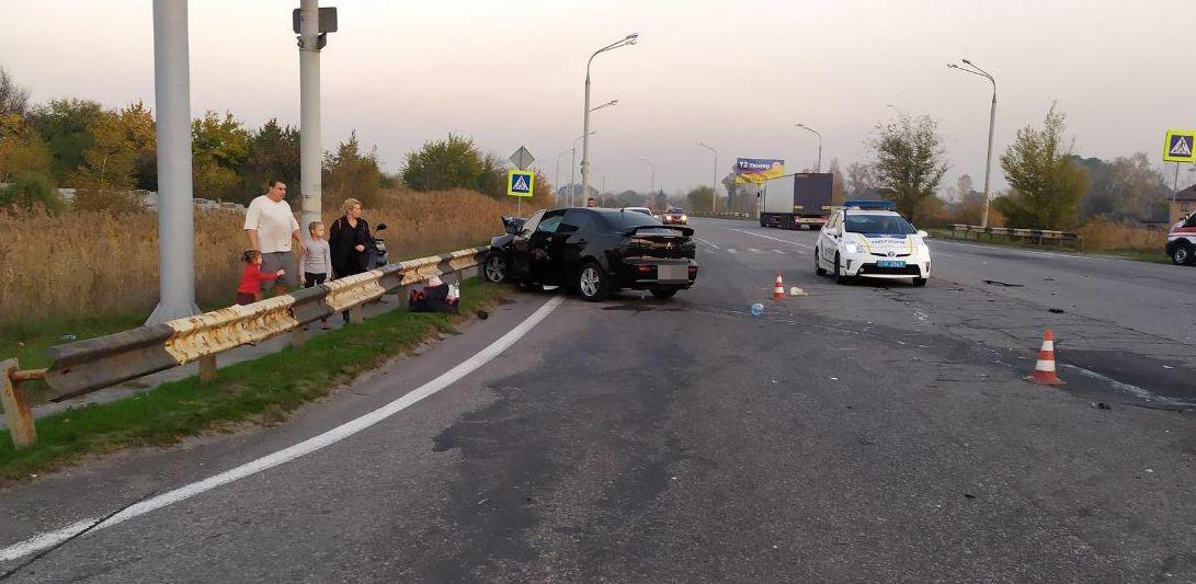 В результаті аварії загинув поліцейський / facebook.com/PoliceDniproRegion