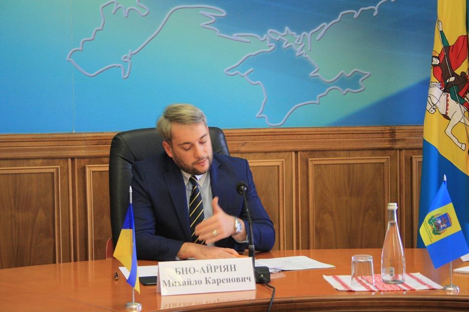 Голова Київської ОДА подав заяву про відставку