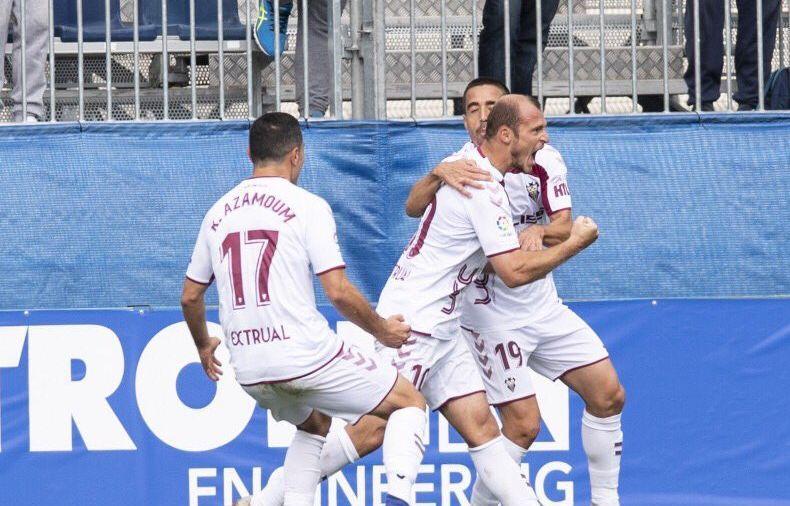 Роман Зозуля став автором переможного гола / фото: twitter.com/AlbaceteBPSAD