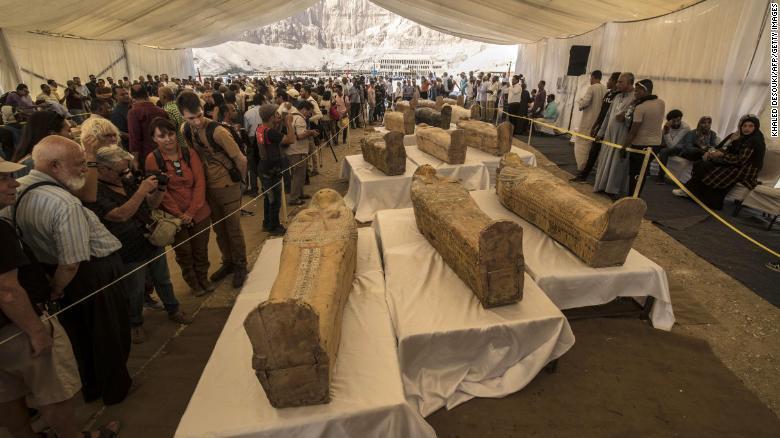 Находки переместят в Большой египетский музей / cnn.com