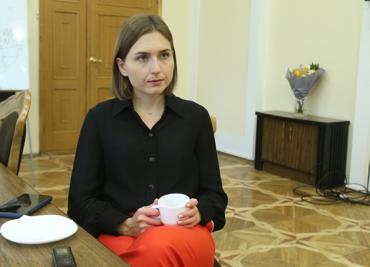 Ганна Новосад йде з МОН / фото УНІАН