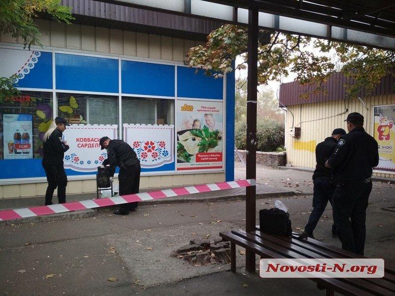 Людський череп знайшли в урні біля входу в магазин / фото: Novosti-N.org