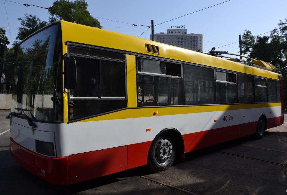 Первый электробус получится в Одессе на маршрут / фото: dumskaya.net