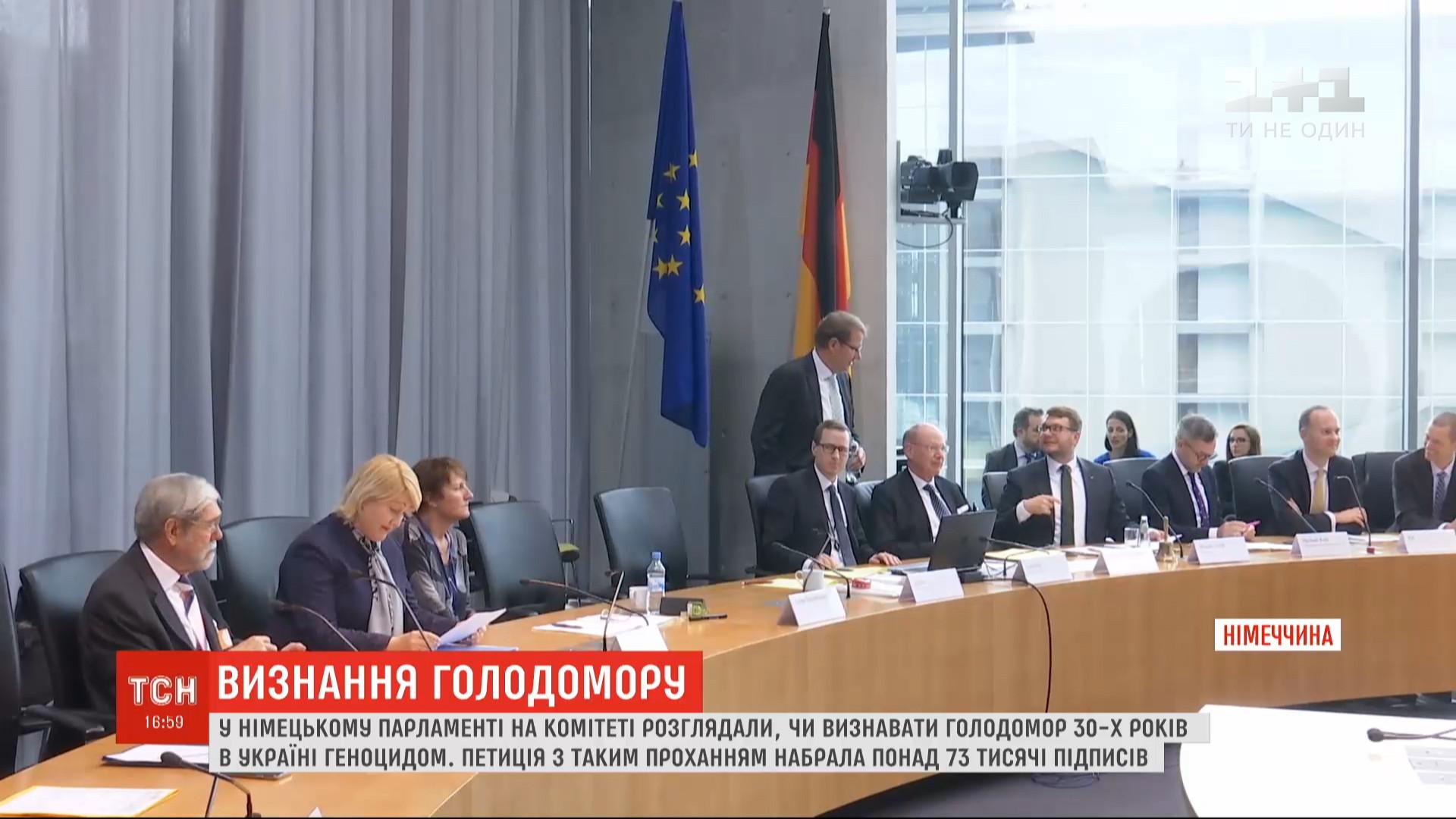 На обговоренні був присутній і представник німецького уряду/ скріншот
