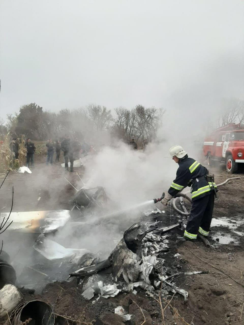 Падение вертолета произошло в 16.00 / ГСЧС