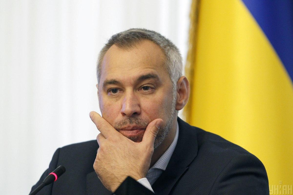 Ukrainian Prosecutor General Ruslan Riaboshapka / Photo from UNIAN