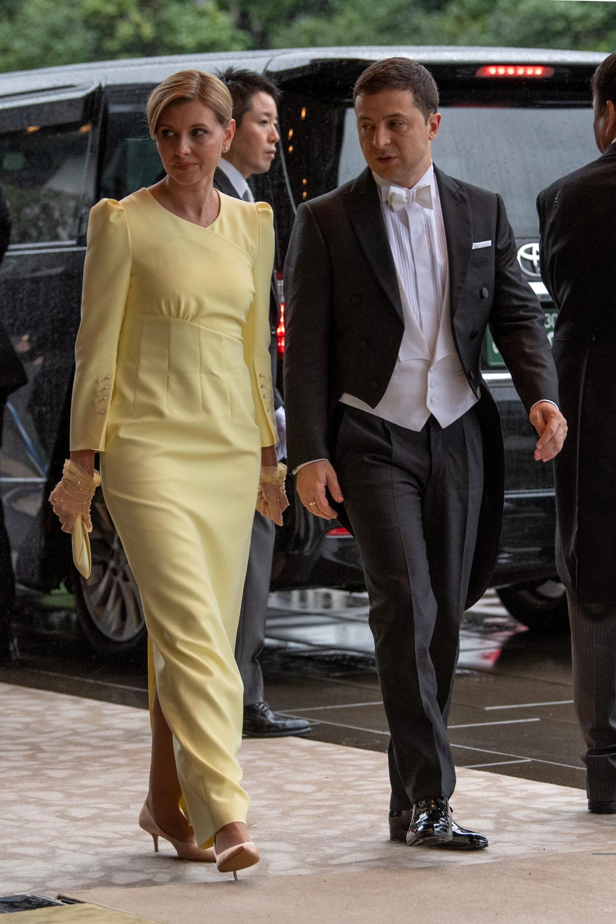 President Zelensky and First Lady Olena Zelenska / REUTERS