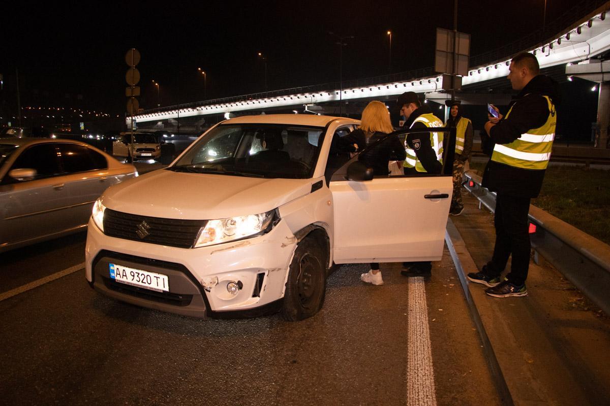 В момент аварии в автомобиле находился ребенок / kiev.informator.ua