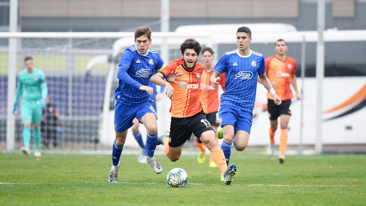 Шахтер добыл уже два очка в Юношеской лиге УЕФА / фото: ФК Шахтер