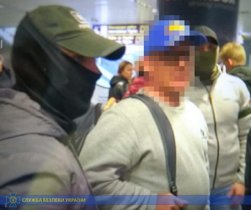 The ex-official is suspected of treason / Photo from the SBU press service