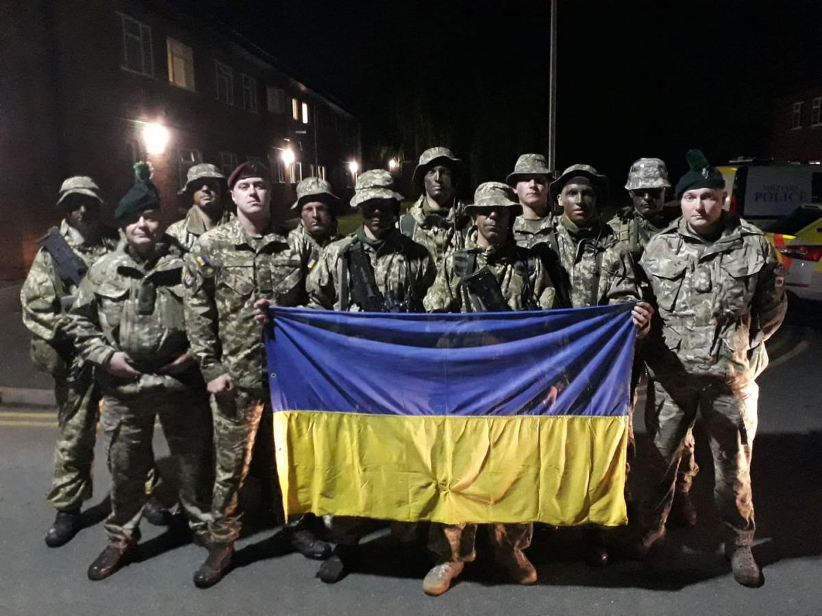 Военные ВСУ стали вторыми на соревнованиях в Британии / фото: mil.gov.ua