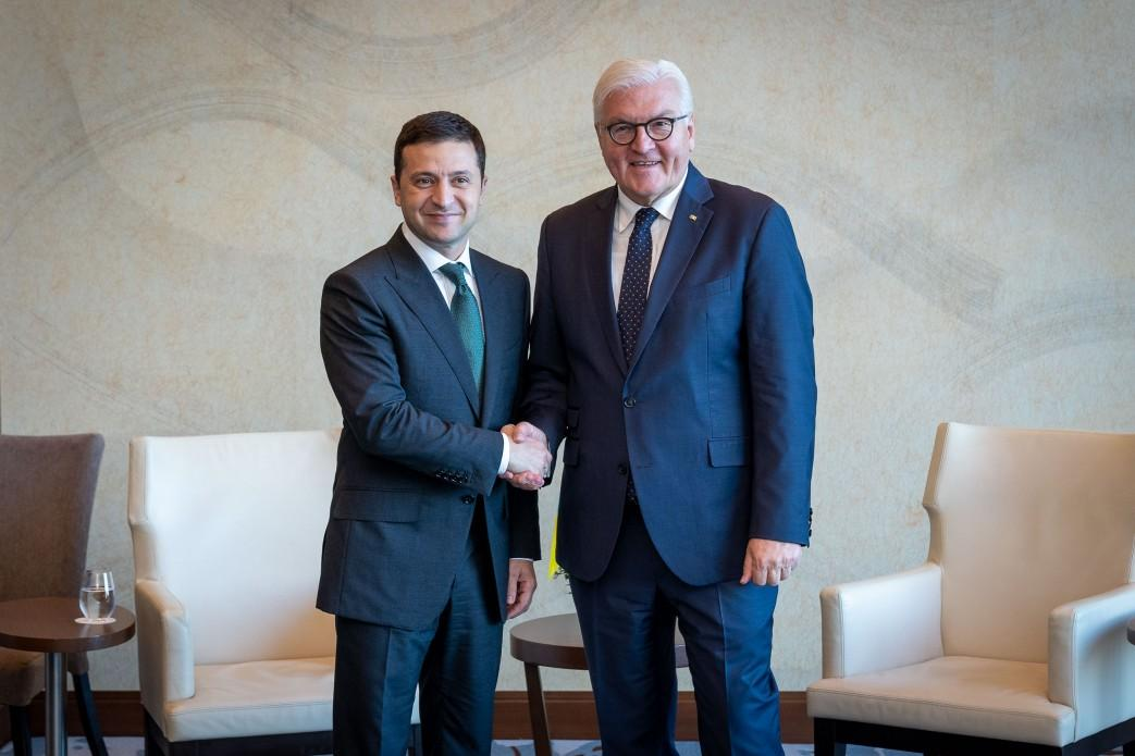 Zelensky has invited Steinmeier to visit Ukraine / Photo from president.gov.ua