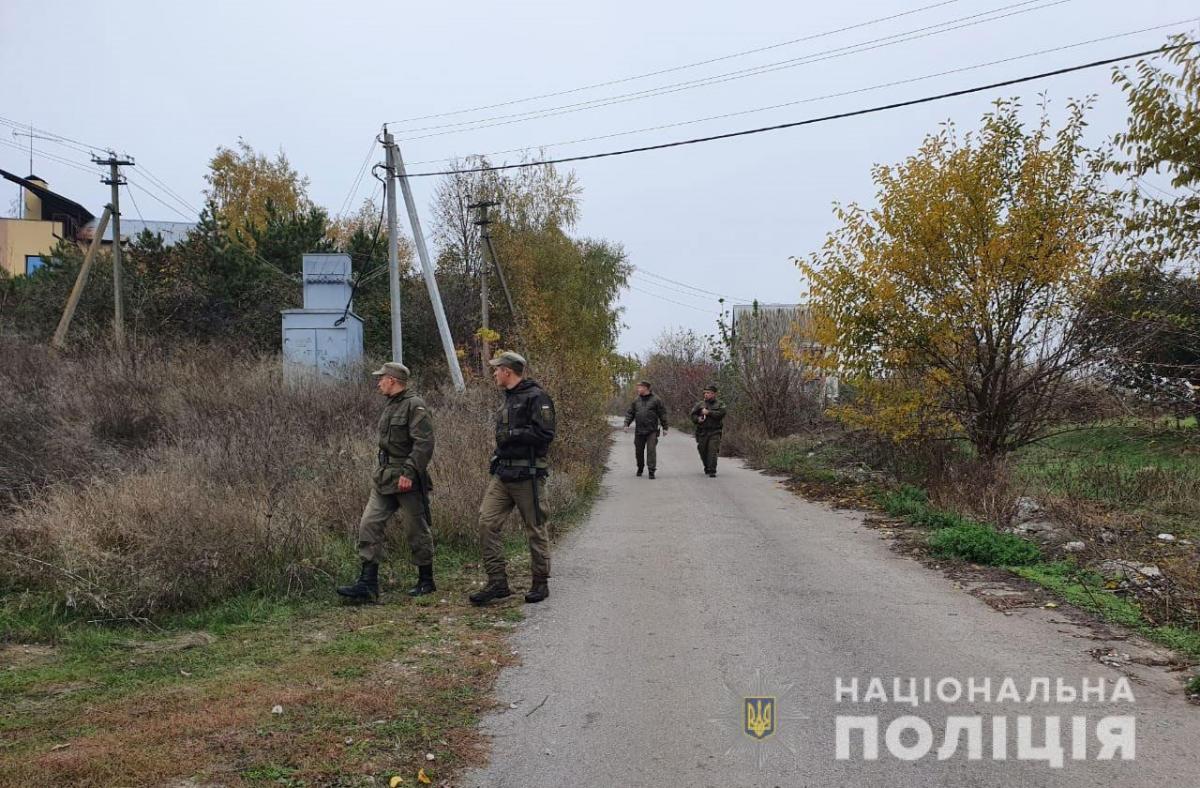 Малыша искали более 10 часов / ГУНП Днепропетровской области