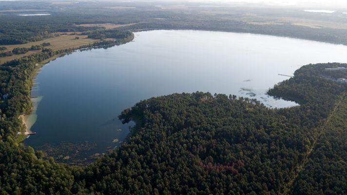 Цієї осені на озері через обміління утворилося три нових острови / фото resource.com.ua