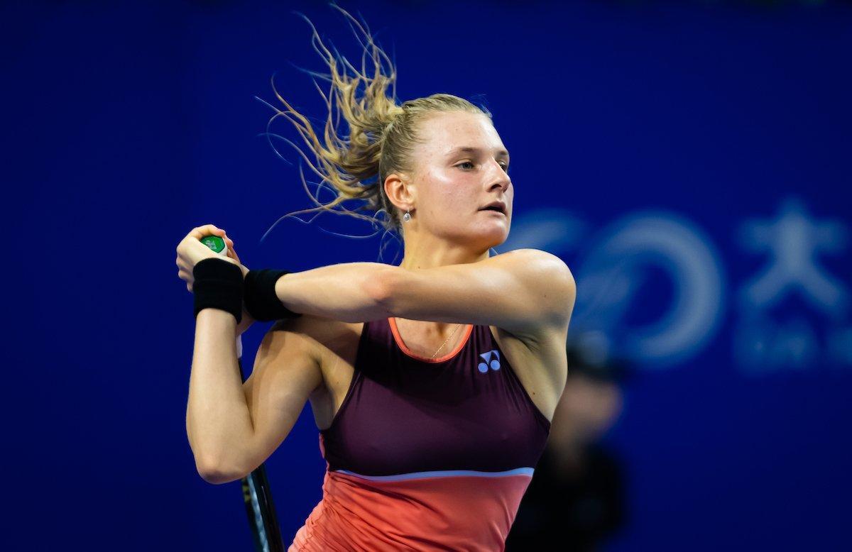 Даяна Ястремська програла в трьох сетах / фото twitter.com/WTA