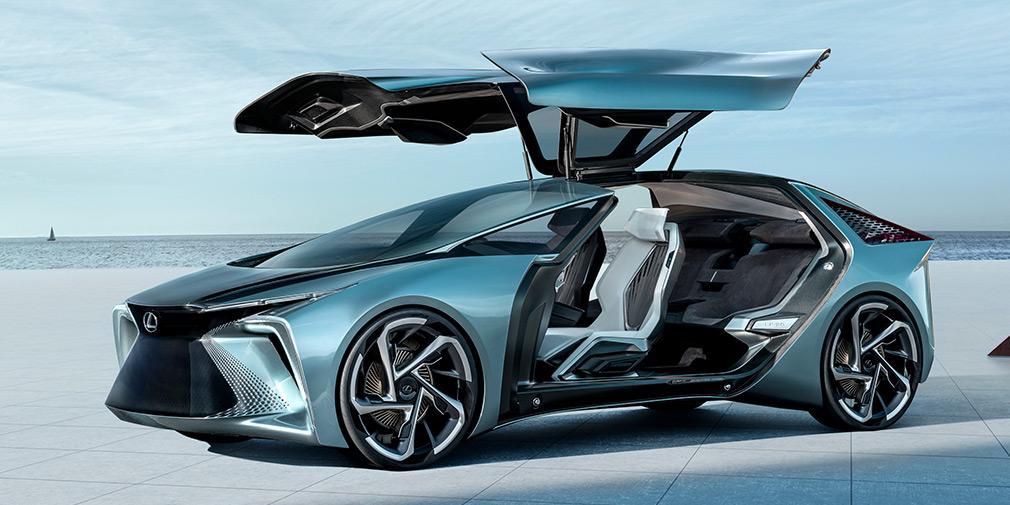 Lexus розсекретив концептуальний електромобіль LF-30 Electrified / фото Lexus, autocar.co.uk