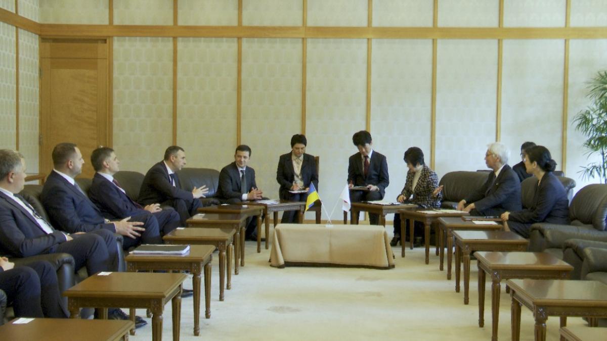 Зеленский призвал руководство Японии ввести для украинцев безвизовый режим / фото president.gov.ua