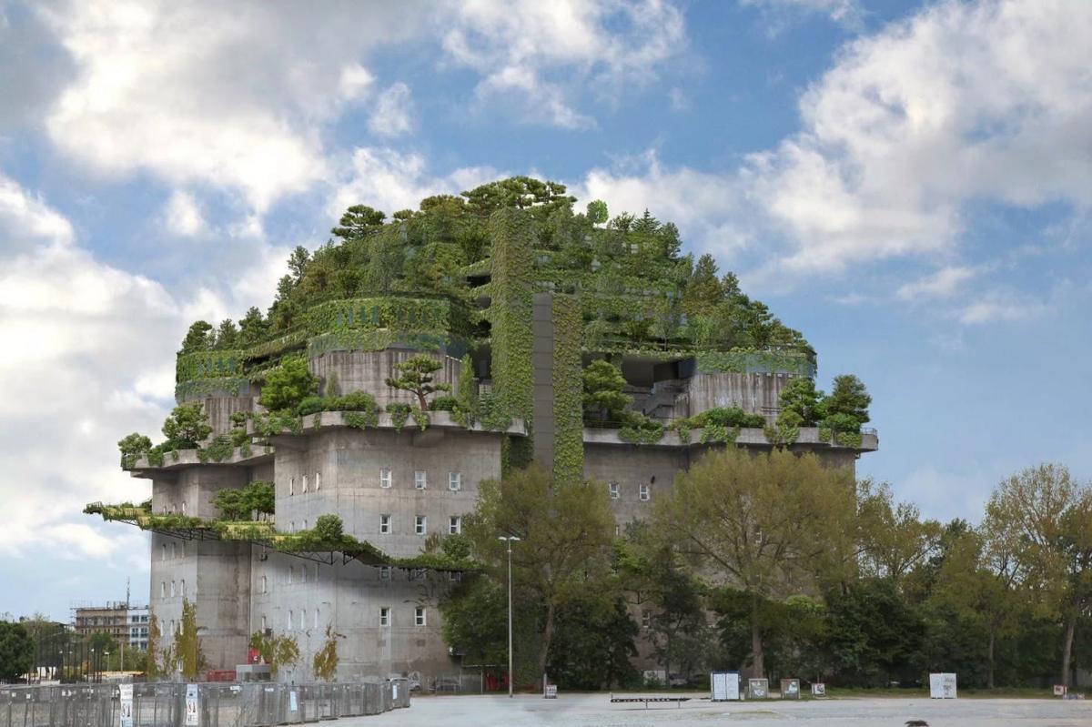 """В бункере-""""замке"""" откроют отель / фото: elmundo.es"""