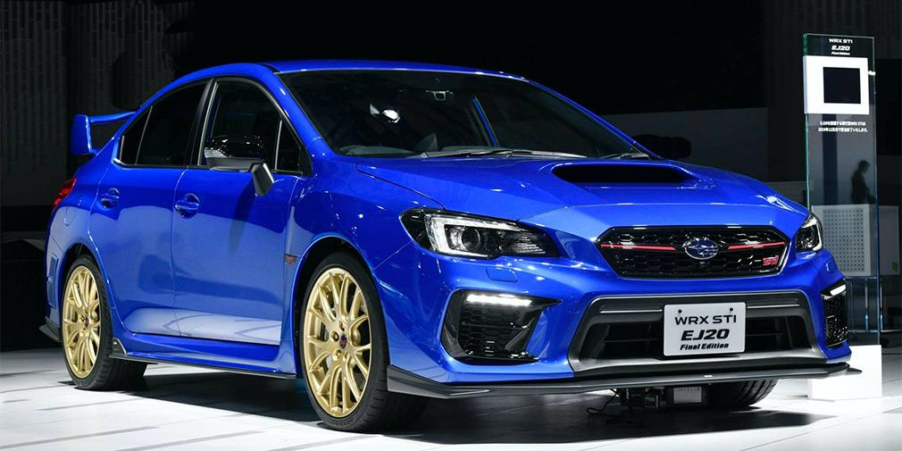 Тираж Subaru WRX STI EJ20 Final Edition ограничат 555 экземплярами / фото Subaru
